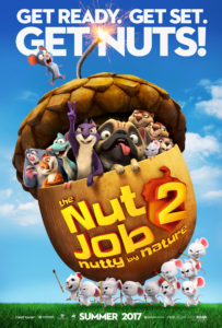 The Nut Job 2: Nutty by Nature had some cute scenes, but mostly this one is for the kids.