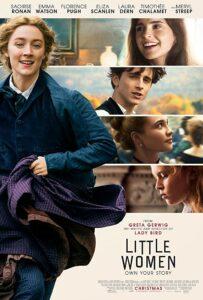 2019 little women movie poster