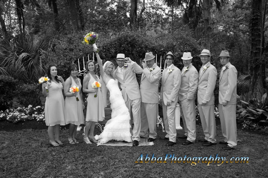 Orlando Wedding Photographer loves fun bridal parties