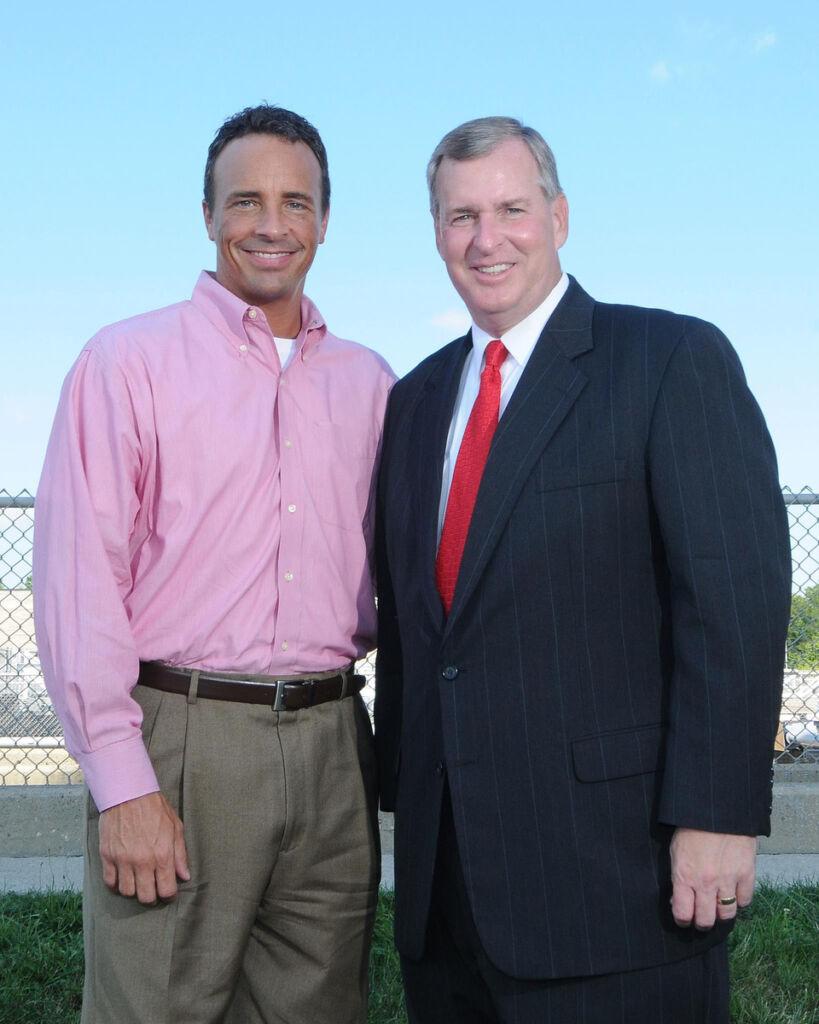 Robert Vane and Mayor Greg Ballard