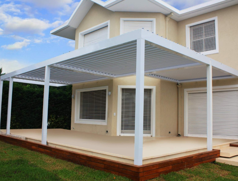 House Attached Pergola System