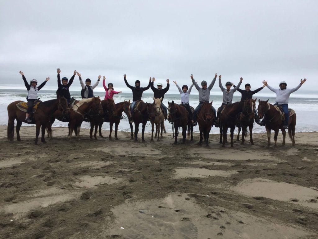 Group ride beach mar vista (1)
