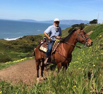 Sergio on Horseback crop