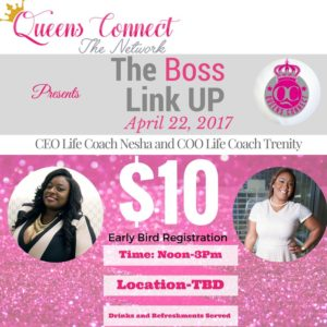 Queen's Connect Presents; The Boss Link Up @ TBD