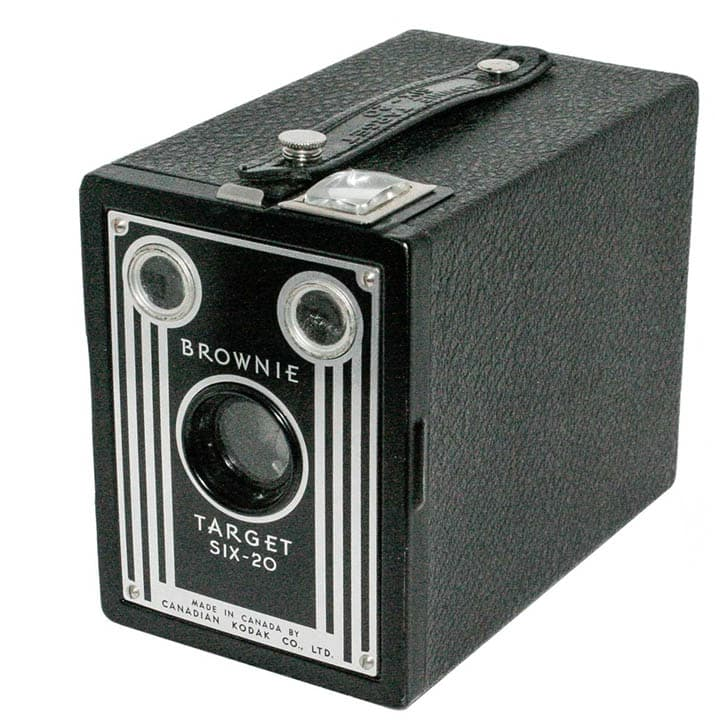 Kodak Brownie Six-20, the original point & shoot camera.