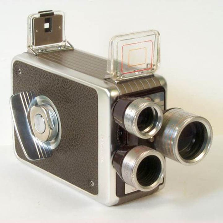 Kodak Brownie 8mm Movie Camera with Turret f/1.9.