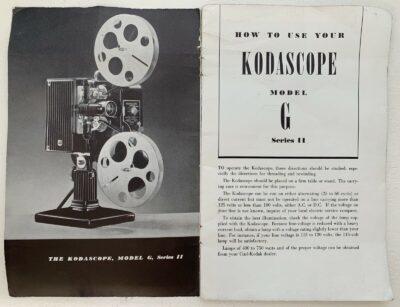 Kodascope Projector Ad