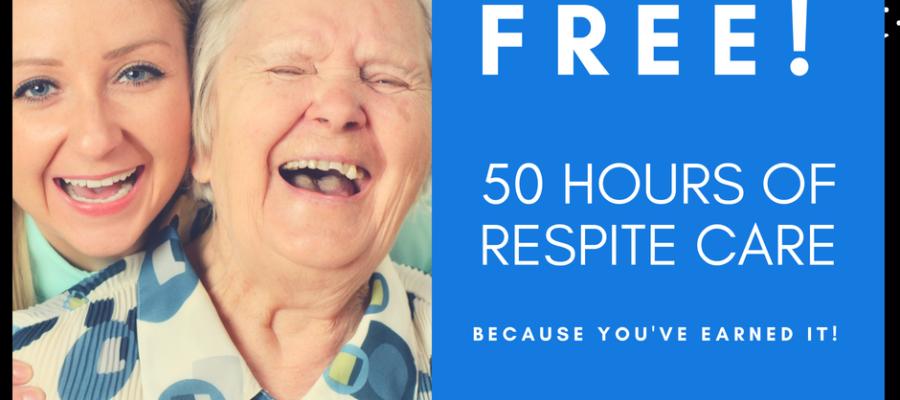 50 hours of free respite care