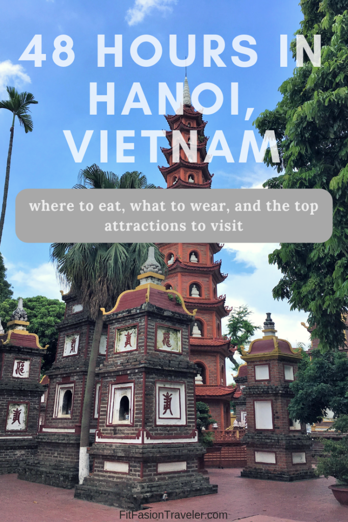 What to do and see with 2 days in Hanoi, Vietnam