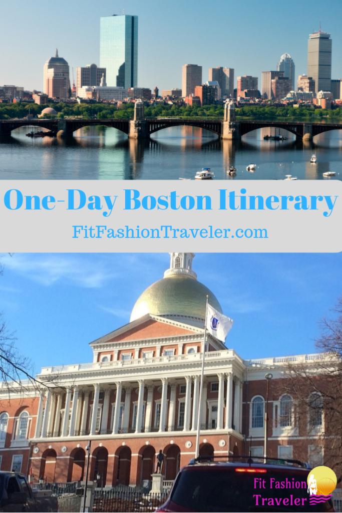 One-Day Itinerary for Boston, Massachusetts