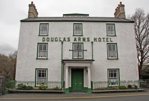 wales, bethesda, douglas arms, pub, hotel