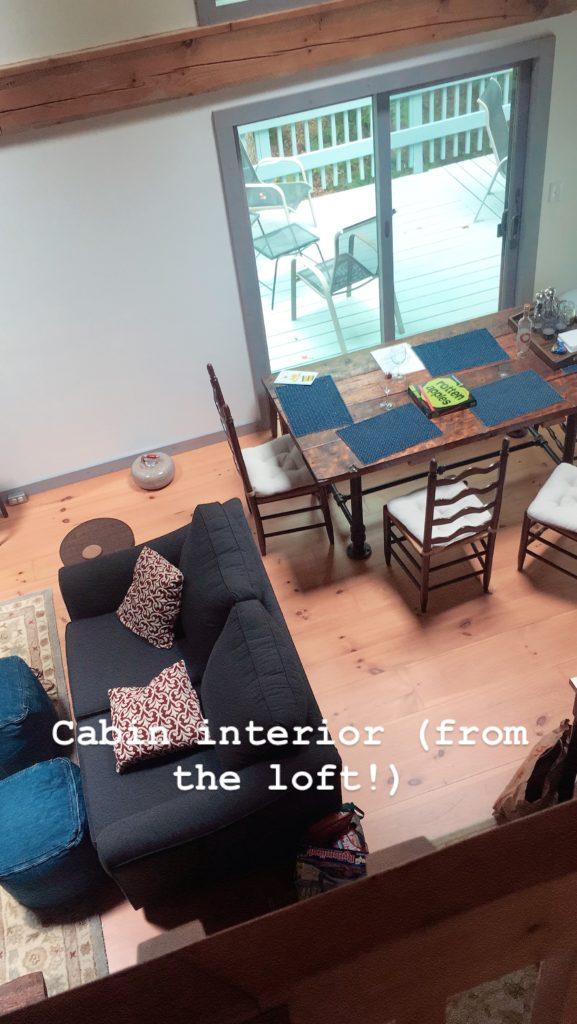 new hampshire, cabin, loft, autumn