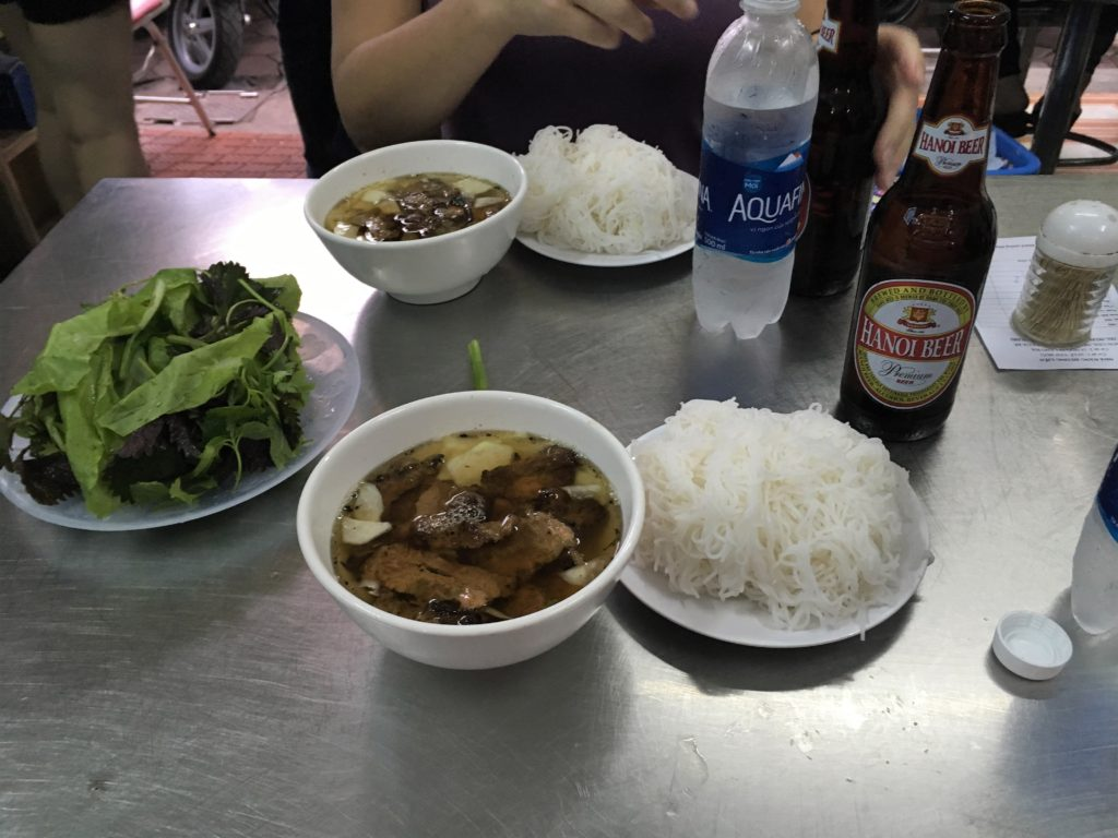 Hanoi Bun Cha Vietnamese Food