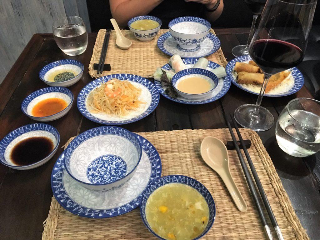 Hanoi Salad Soup Vietnamese Food