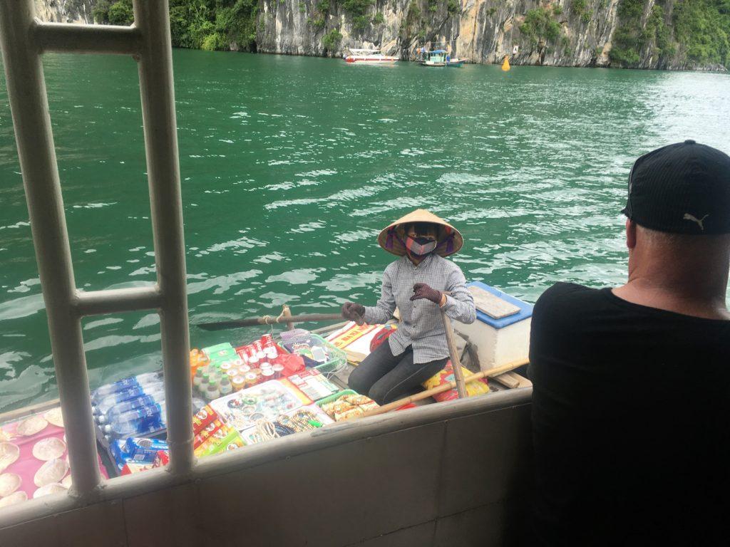 halong bay cruise, ha long bay, floating village, vietnam