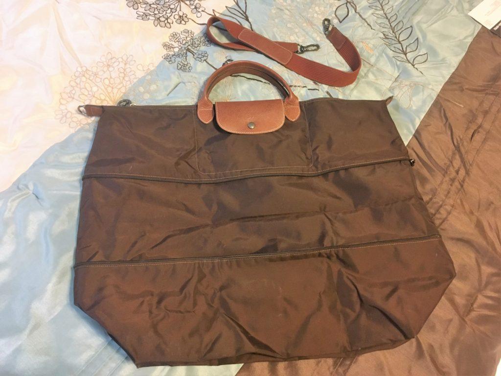 longchamp, carry-on bag, carry-on, travel bag, luxury travel essential, travel essential, travel tip