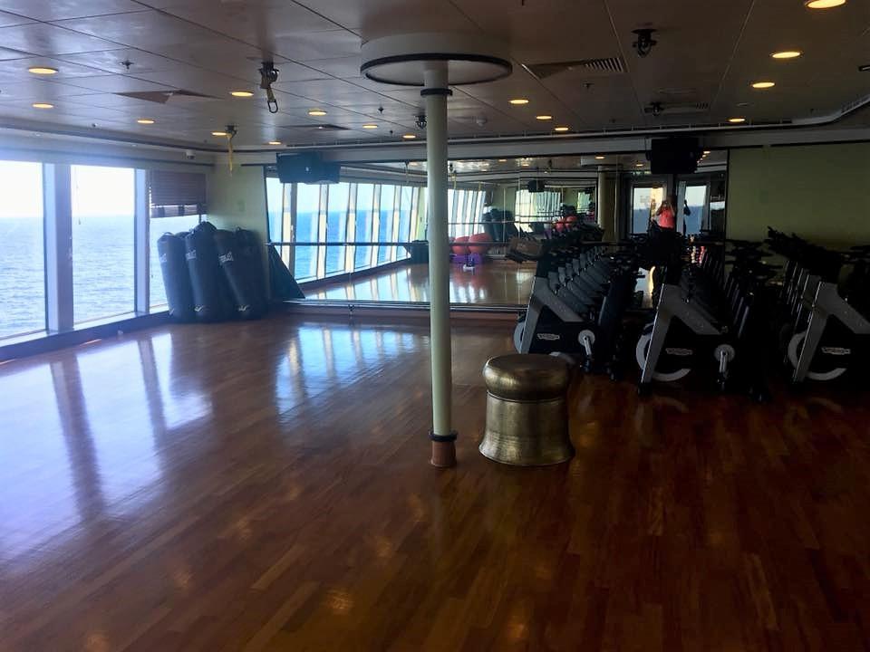 gym; cruise