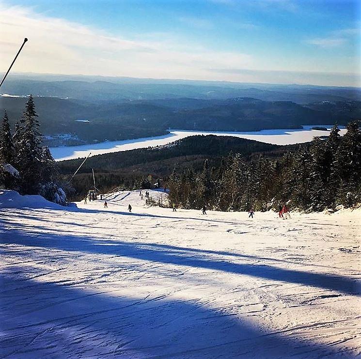 mont tremblant; ski resort; canada; quebec