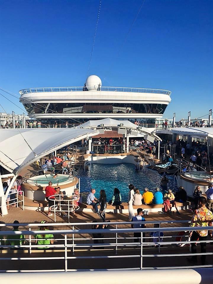 pool; cruise