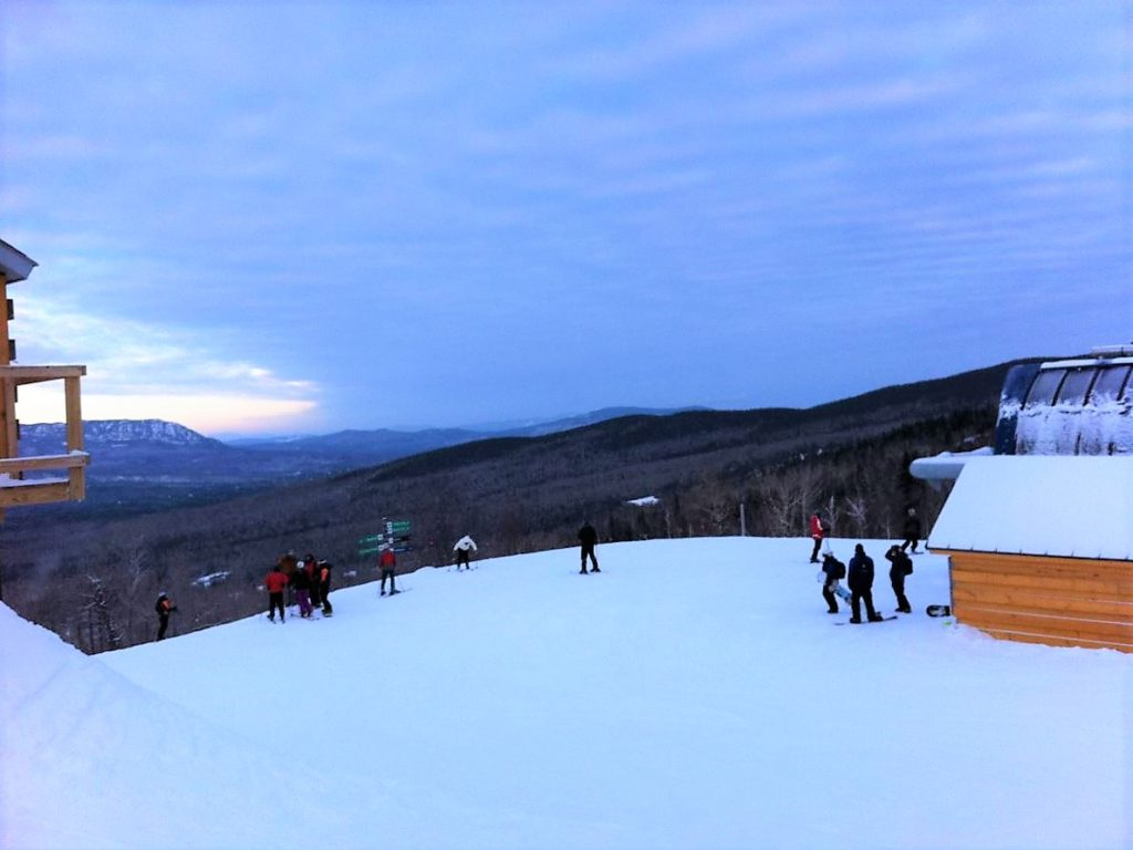 sugarloaf; maine; mountain; new england; ski resort