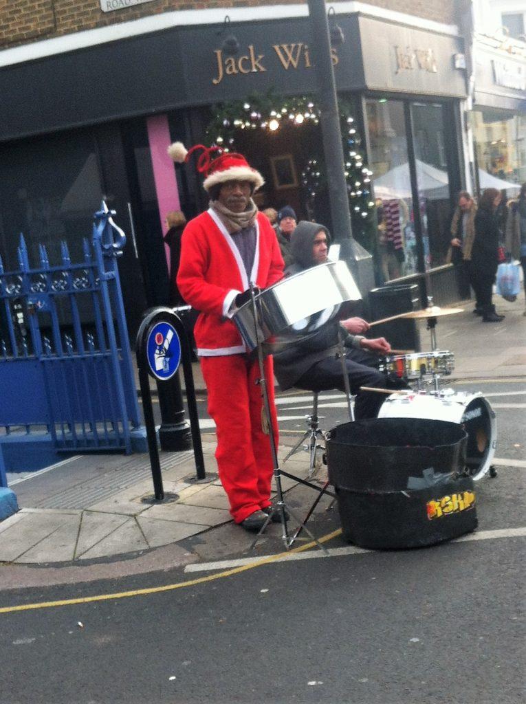 notting hill; london; christmas