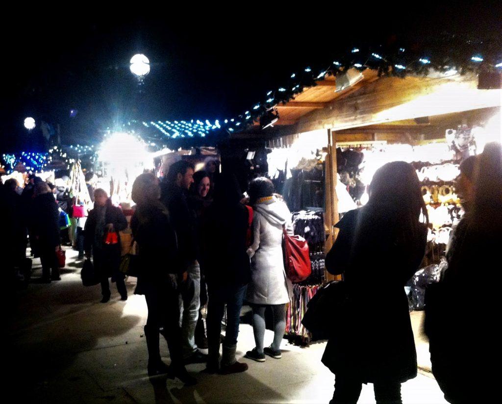 southbank market; london; christmas