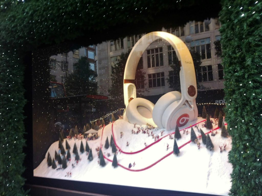 selfridges; london; christmas