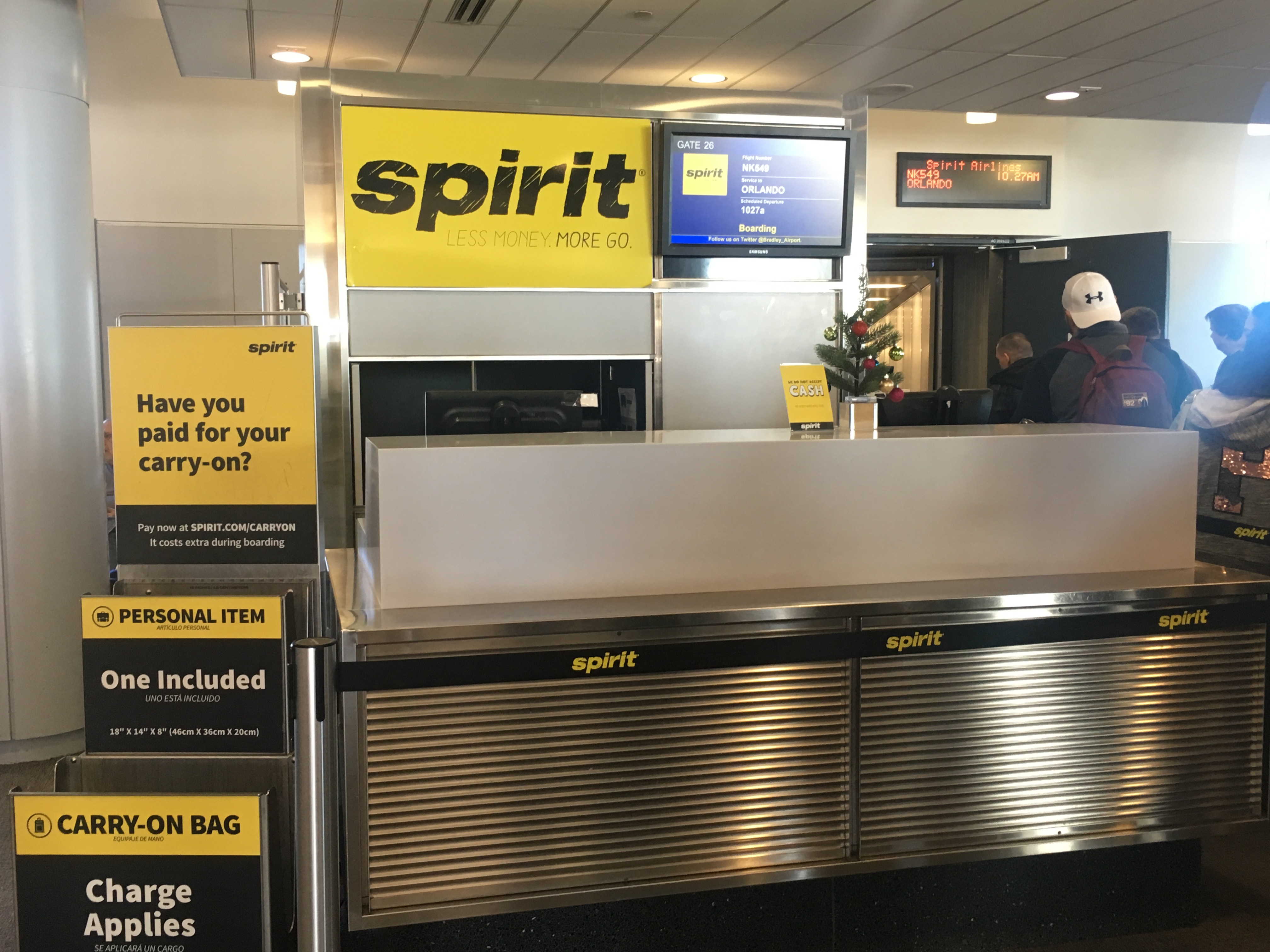 My Experience with Spirit Airlines