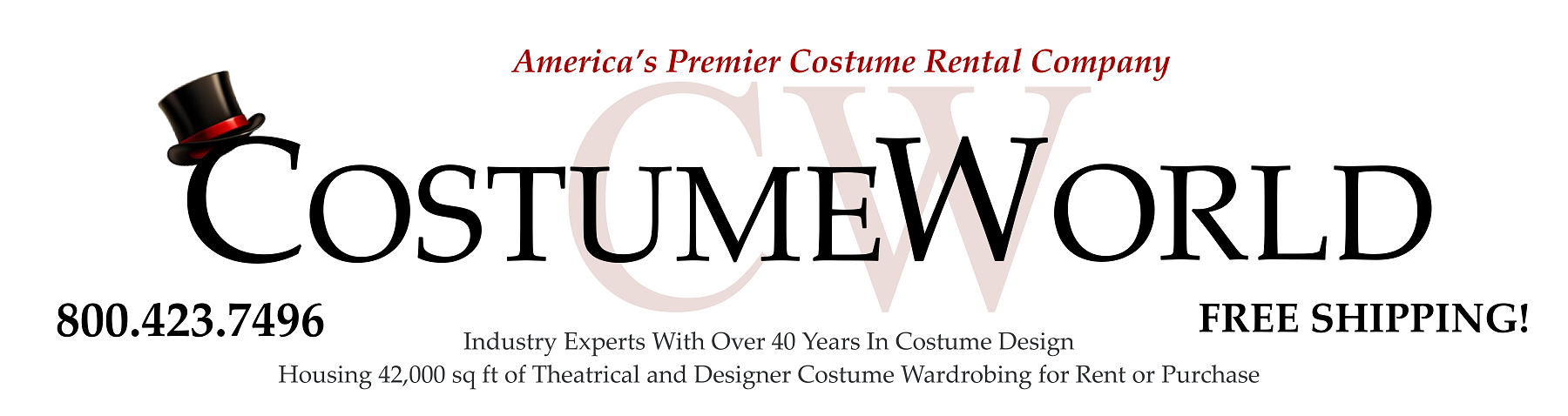 Costume World Rentals