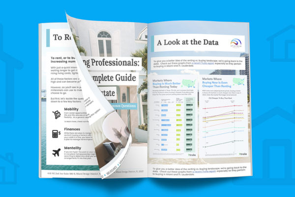 Young professionals guide to Miami real estate cover