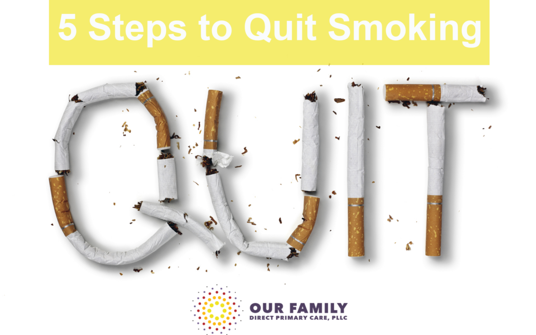 5 Steps to Quit Smoking | Smoking Cessation