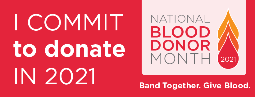 Celebrate National Blood Donor Month!