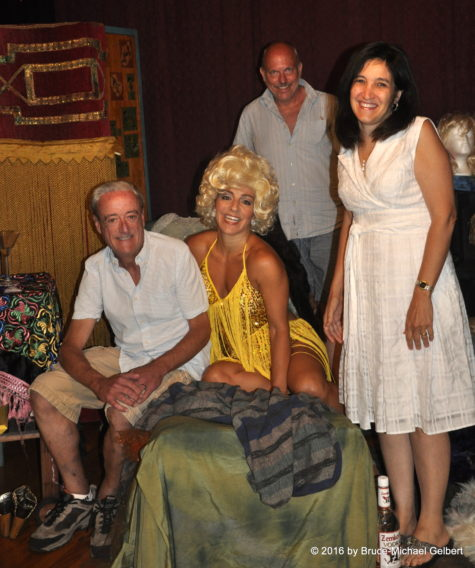 Richard Kennedy, Susan Campanaro as Lavinia Draper, Mark Nayden & Lynn Portas (Photo by Bruce-Michael Gelbert)