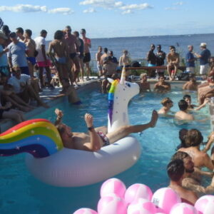 Rose's View: Pool Parties in the Pines