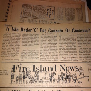 Summer of 1968 on Fire Island