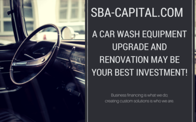 A Car Wash Equipment  Upgrade And Renovation May Be Your Best Investment!