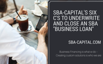 The 6 C's of Qualifying for an SBA Business Loan