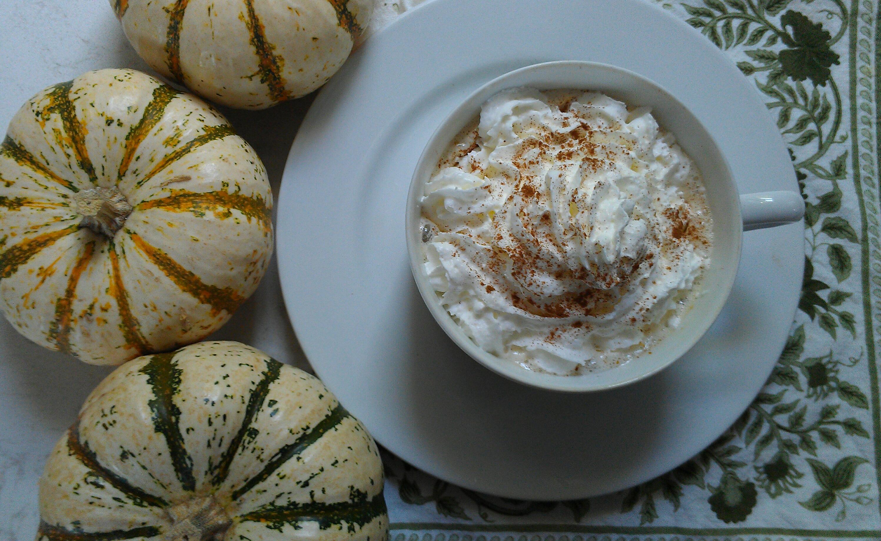 Healthy Pumpkin Chai Tea Latte Recipe