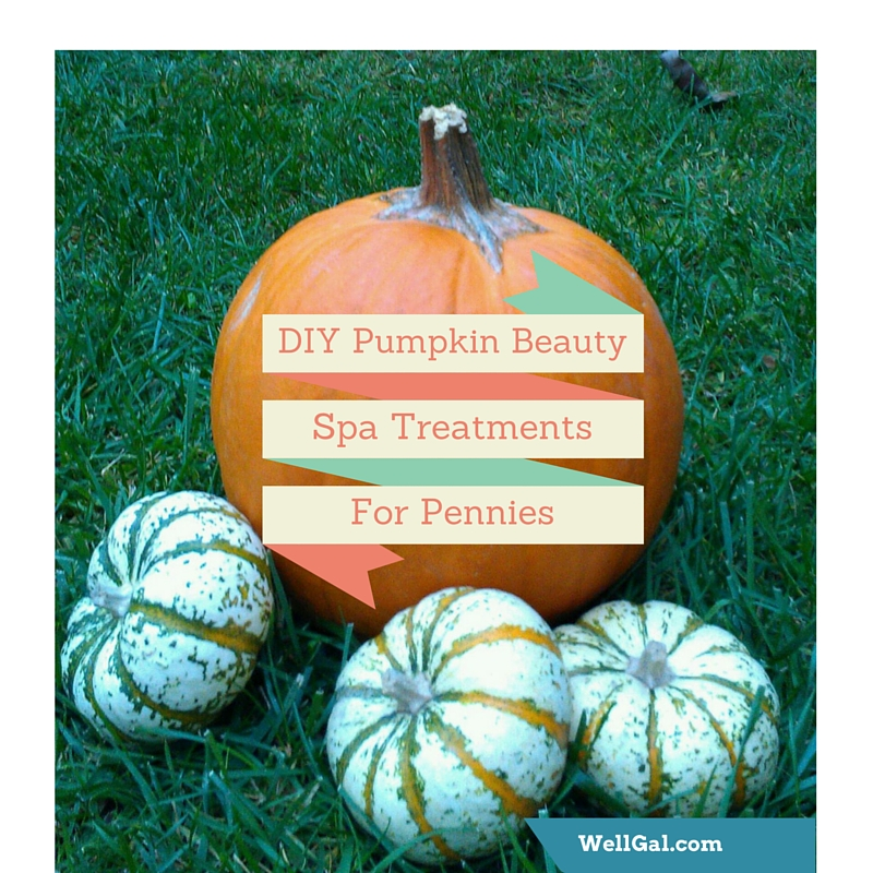 Use fresh or canned pumpkin to make bountiful at-home spa treatments for pennies!