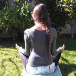 Meditation renews your energy and relieves stress.