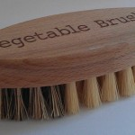 Vegetable brushes are effective for washing produce with thicker skins, such as melons, and are recommended by the FDA .