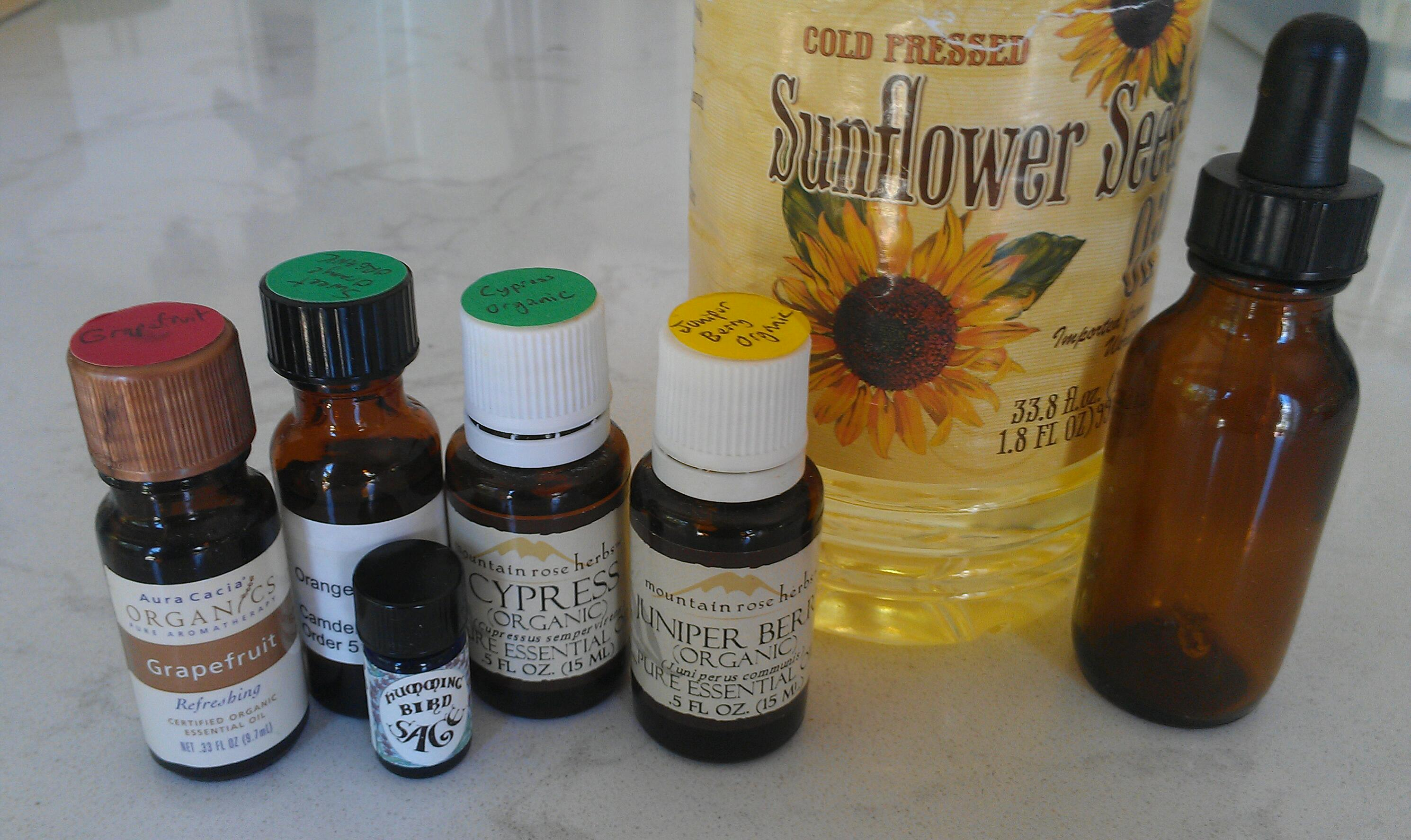 Make Your Own Belly-Busting Aromatherapy Massage Oil