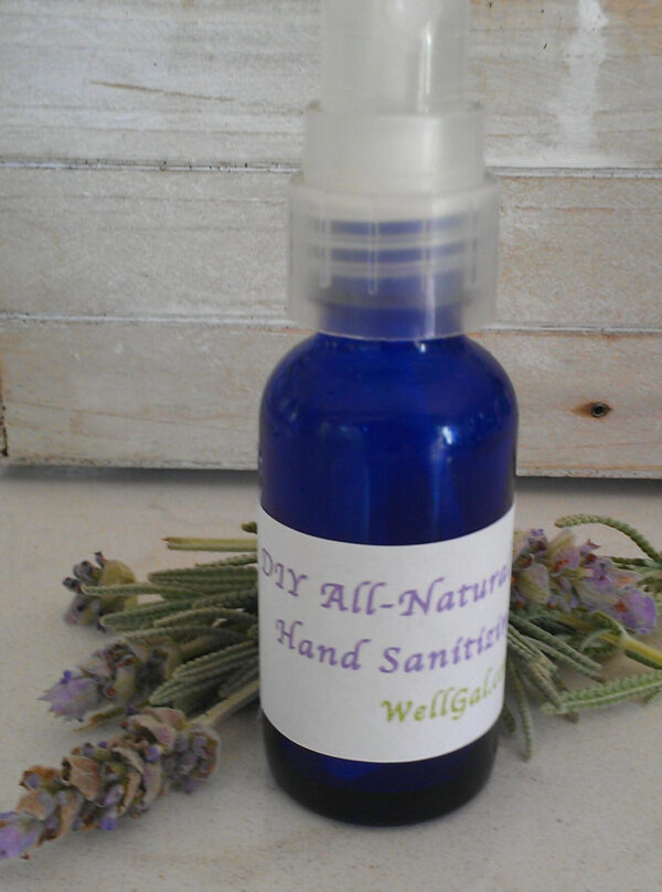 DIY All-Natural Hand Sanitizing Spray – Meets CDC Guidelines