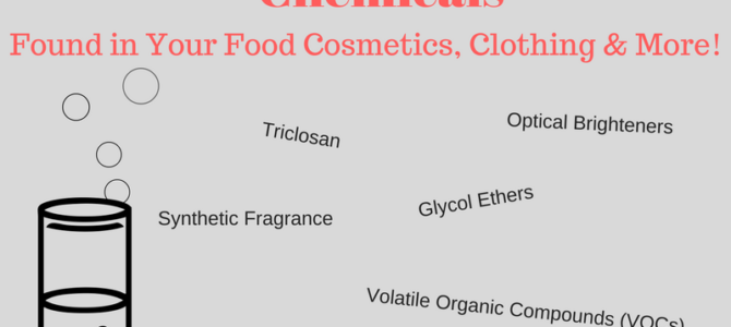 A Frightful Tale: Pervasive & Harmful Chemicals in Cosmetics, Home Products, Food, & More!