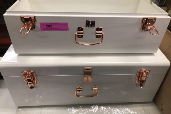 metal trunks