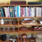 My shelf of cookbooks at of June 9, 2019