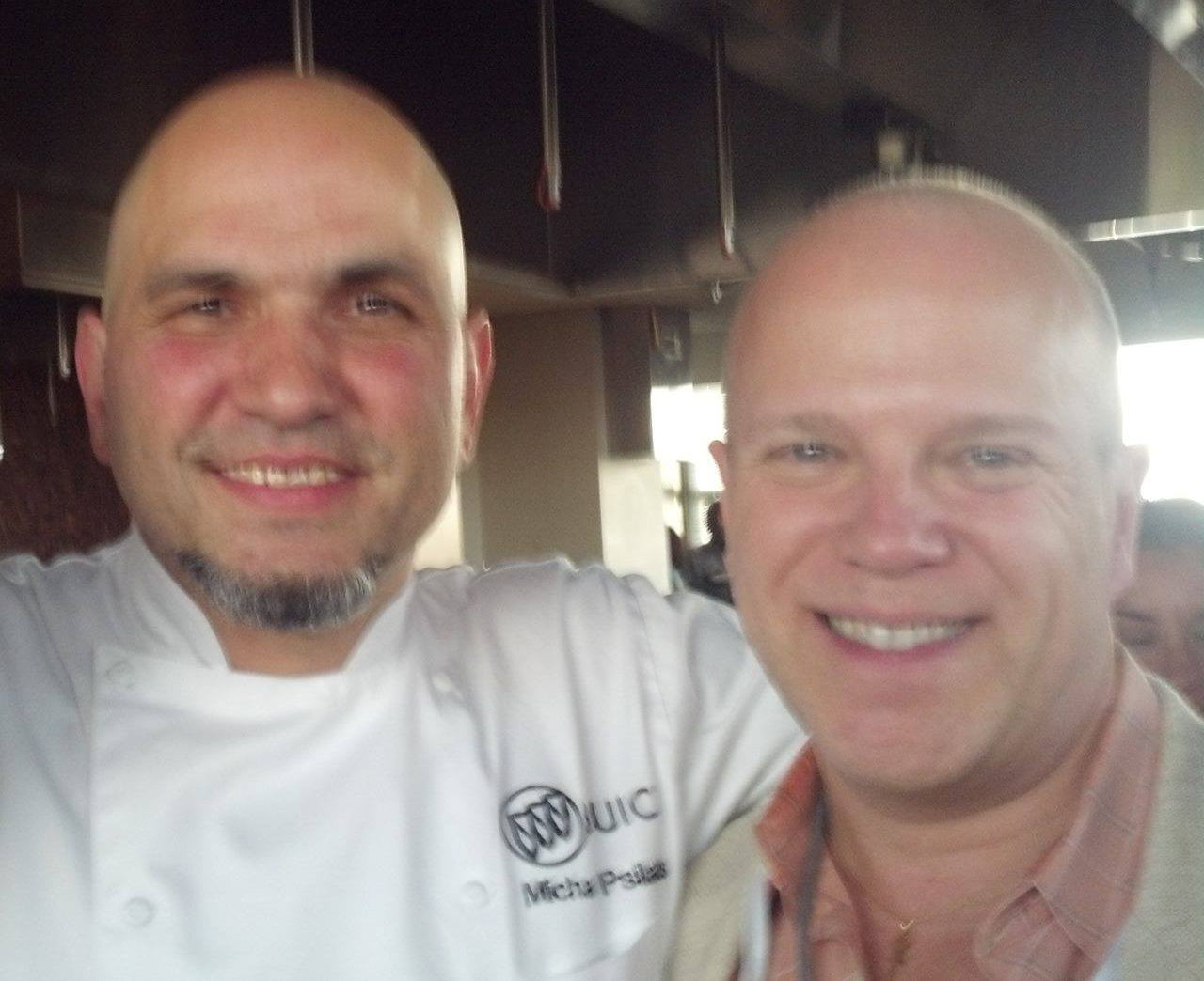 chef michael psilakis and tommy hensel