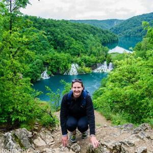 Nicole in Croatia - Nicole has been to over 40 countries