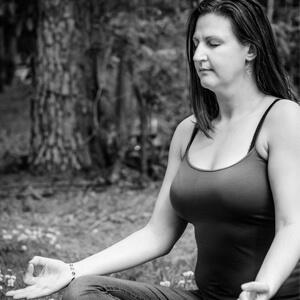 Nicole meditates daily