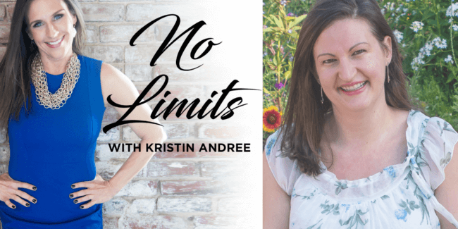 No limits with Kristin Andree image of business consultant Kristin Andree and professional intuitive Nicole Leffer